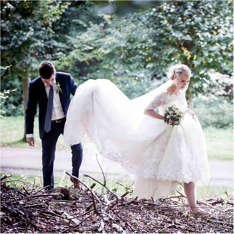 Få foreviget den store dag med en bryllupsfotografering