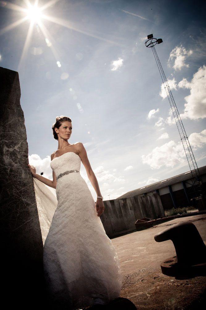 Bryllupsbilleder fotograferet i Odense.